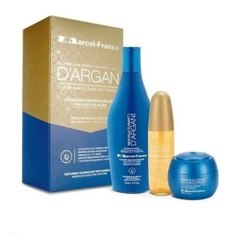 Aceite De Argan Kit Marcel France Origi - mL a $258