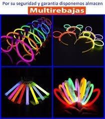 100 Pulseras Neon Se Iluminan En La Noche Fiestas Eventos