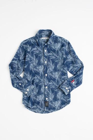 Camisa Mini Pf Jeans Pirangi Reserva Mini