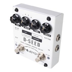 Pedal Guitarra Joyo D-seed Dual Channel Digital Delay
