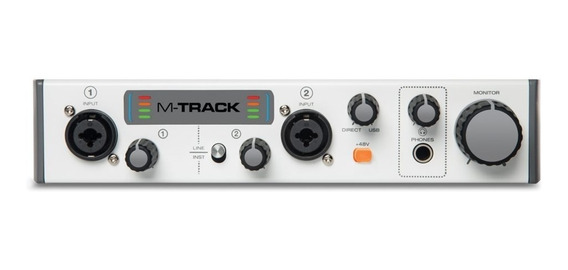 Interface Placa De Gravação Usb Mtrackii M-audio