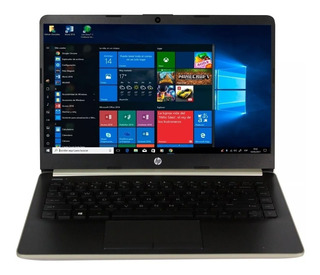 Laptop Gamer Hp Amd A4 9125 4gb Ssd 64gb 14 Radeon Wifi Usb