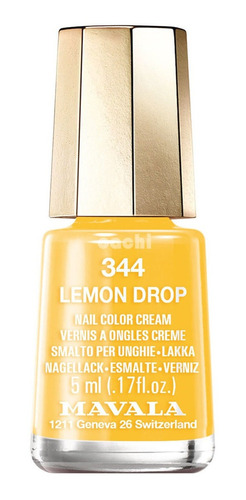 Esmalte Mavala Mini Lemon Drop 344
