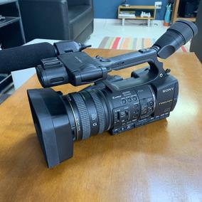 Camera Sony Hxr Nx5 + Unidade Gravação Digital 128gb