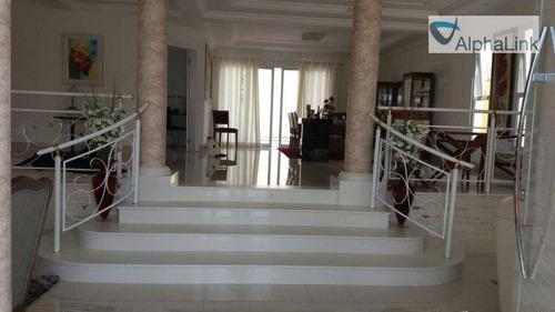 Imagem 1 de 30 de Casa Com 4 Dormitórios À Venda, 430 M² Por R$ 2.300.000,00 - Alphaville - Santana De Parnaíba/sp - Ca0417