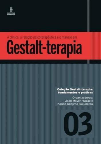 Imagem 1 de 1 de Clinica, A Relacao Psicoterapeutica E O Manejo Em Gestalt-