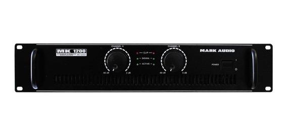 Potência Mark Audio Mk 1200 - 200 Watts By Attack - Colitec