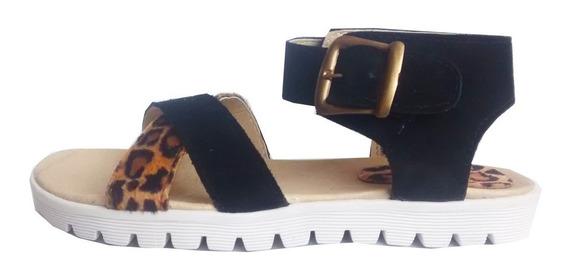 Sandalias Bordadas Con Plataforma Y Chatitas