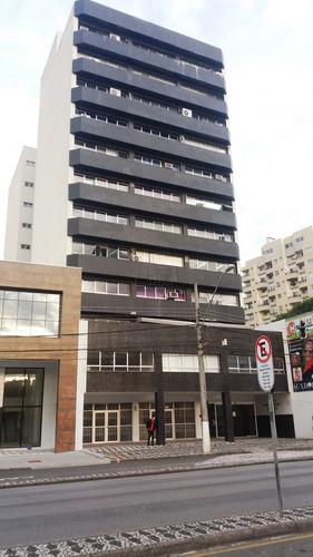 Salas Comerciais À Venda Com 91.51m² Por R$ 380.000,00 No Bairro Água Verde - Curitiba / Pr - Sl  1752