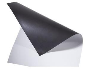 Imán En Plancha Pvc Blanco - 1 Metro X 62 Cm - 0.5mm Espesor