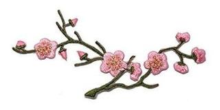 Id 6262 Cherry Blossom Branch Patch Árbol De Flores Hierro B