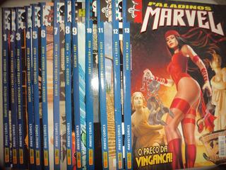 Paladinos Marvel 1 A 13 Completa Panini 2002 Frete Gratis Ex
