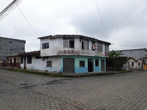 Vendo Casa De 2 Pisos Esquinera Santo Domingo