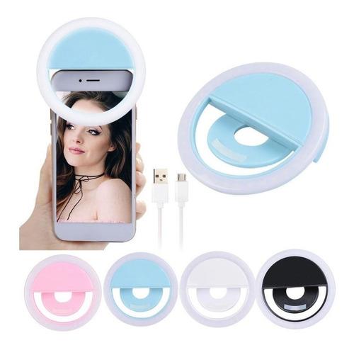 Imagen 1 de 7 de Flash Selfie Luz Para Celular Led iPhone Samsung LG Huawei®