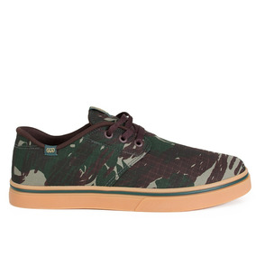Tênis Hocks Del Mar Originals Verde Camuflado Original