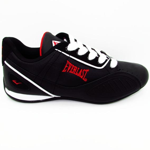 Tenis Everlast El 1505 4 Punch Negro Rojo Balnco Unisex
