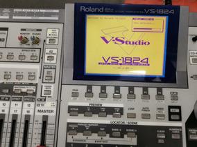 Mesa Digital Som/gravadoral Roland Vs-1824 Cd Perfeita Vem!!