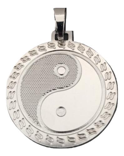 Pingente Rellicari Yin Yang Em Aço Inox A016