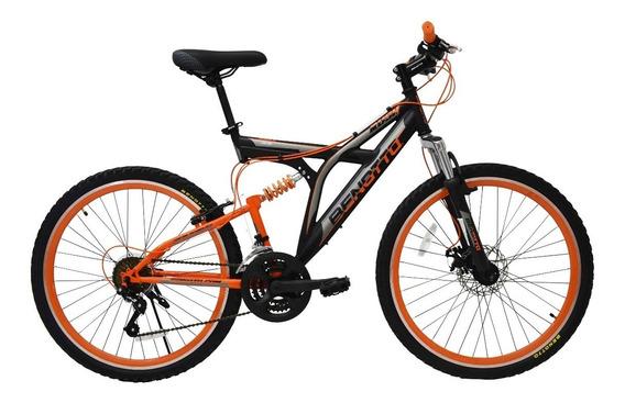 Bicicleta Benotto Rush R26 Suspensión/freno Disco