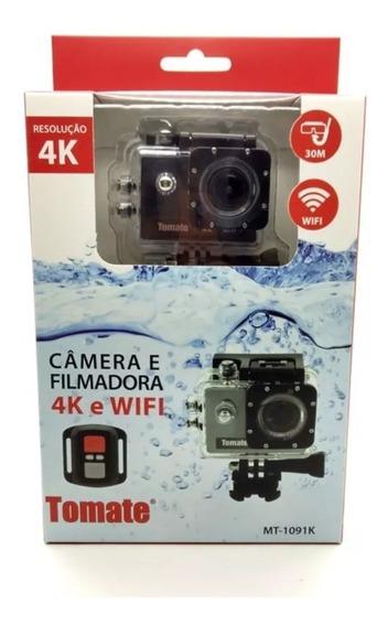 Câmera Filmadora Esporte 4k Wifi Youtube 1080