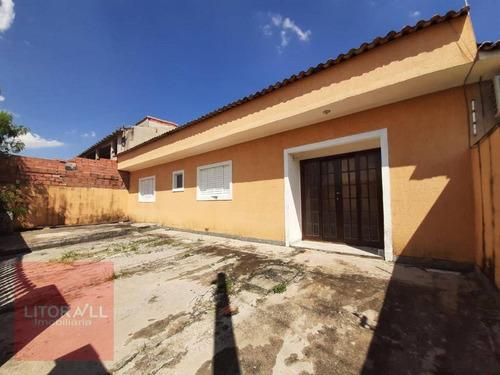 Casa Com 3 Dormitórios À Venda, 75 M² Por R$ 190.000,00 - Estância Balneária De Itanhaém - Itanhaém/sp - Ca1953