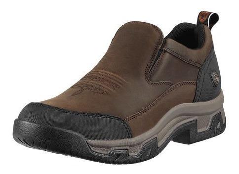 Zapatos Casuales Ariat Rockwood Para Hombre - Marrón Desgast