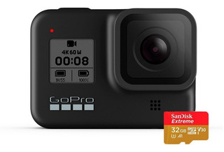 Camara Gopro Hero 8 Black + Memoria De 32 Gb