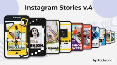 Pack Stories Animados /feed Editáveis No Photoshop
