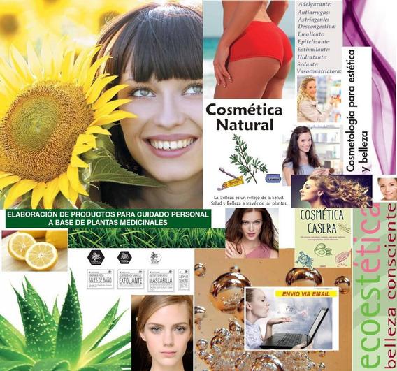 Cosmetica Estetica Natural Maquillaje Ceja Ojo Curso Inf.x13