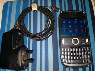 Nokia Asha 302 Con Cargador Para Movistar
