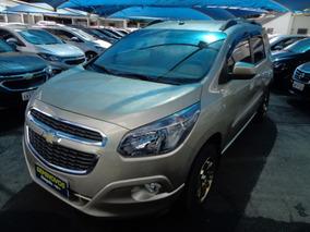 Chevrolet Spin Ltz 1.8 At 2014 Bege Flex