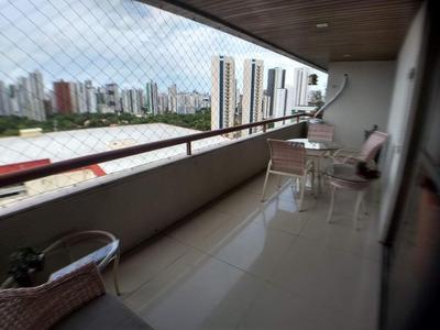 Apartamento Com 4 Quartos À Venda, 320 M² Por R$ 1.300.000 - Tamarineira - Recife/pe - Ap2098