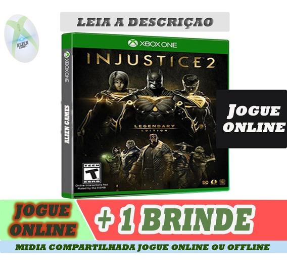 Injustice 2 Versao Legendary Edition X Box One Offline