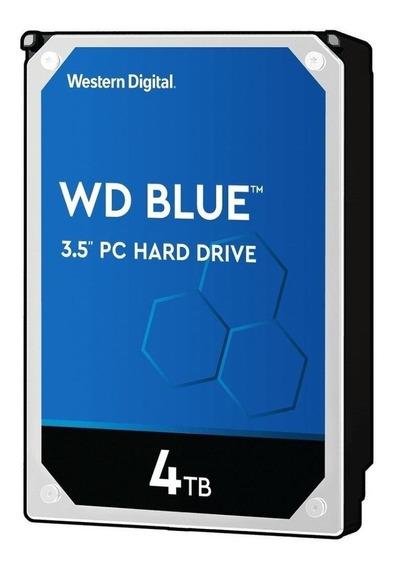 Disco duro interno Western Digital WD Blue WD40EZRZ 4TB azul