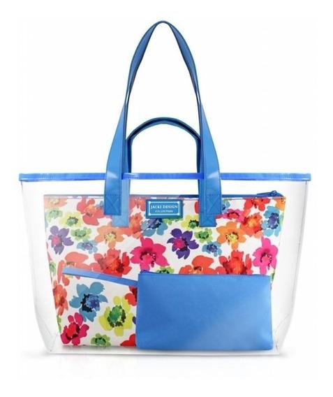 Bolsa De Praia De 3 Pçs - Aquarela Jacki Design Ahl17231