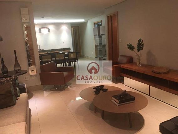 2 Suites, Principal Com Varanda, 2 Semi-suítes, Lazer Completo, 3 Vagas - Ap0560