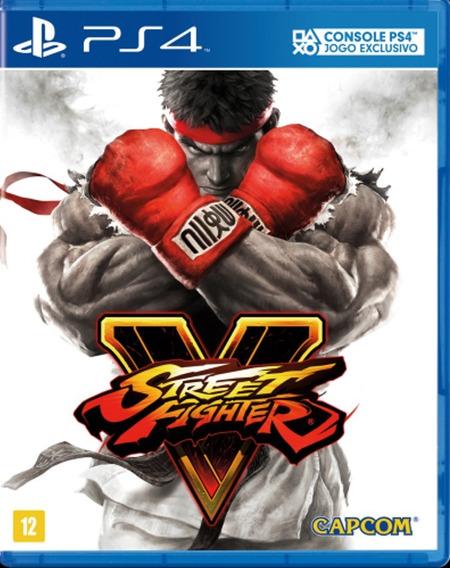 Street Fighter V 5 Ps4 Original 2 Super Promoção