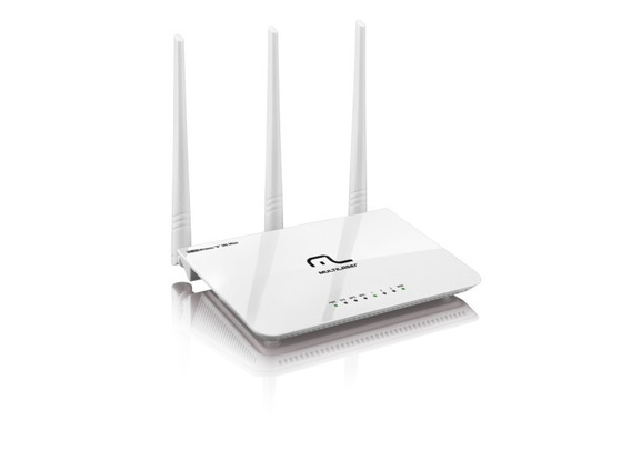 Roteador Wireless Wifi 300mbps 3 Antenas - Multilaser Re163