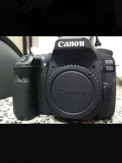 Canon 80d Com Lente 24mm 2.8
