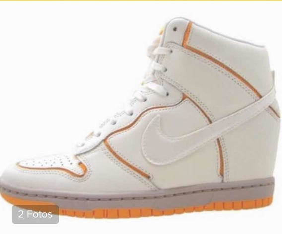 Zapatillas Botitas Nuevas Cuero Nike