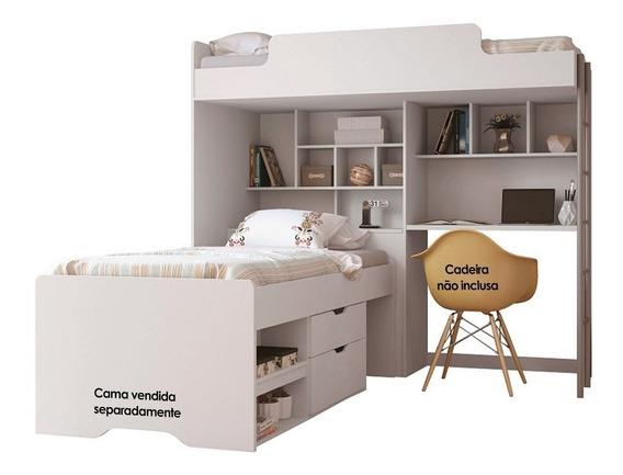 Beliche Santos Andirá Módulo Office New Branco