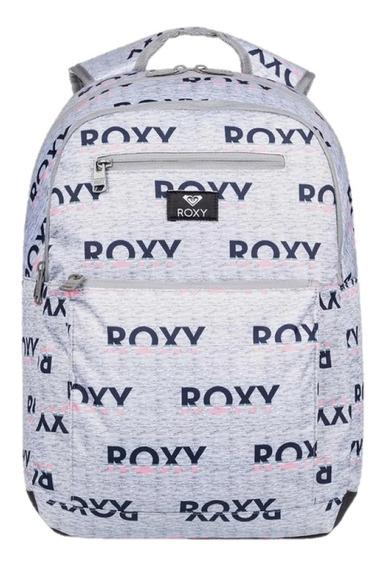 Mochila Roxy Here You Are Viaje Escolar Notebook Mujer Roxy