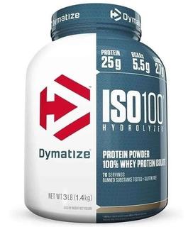 Iso 100 Whey Proteina Hidrolizada & Isolatada 3 Lbs Dymatize