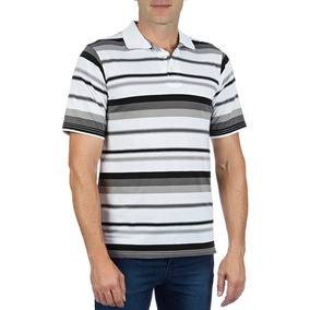108c5d5294 Camisa Polo Colombo Masculina Branca Listrada 35980
