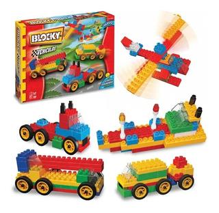 Blocky Vehiculos 140 Pz Auto Avión @ Mca