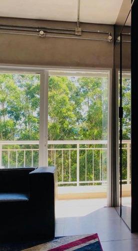 Apartamento Com 1 Dormitório, 50 M² - Venda Por R$ 620.000 Ou Aluguel Por R$ 4.000/mês - Tamboré - Santana De Parnaíba/sp - Ap2772