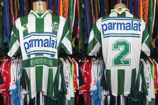 Juventude 1998 Camisa Titular Tamanho G Número 2.