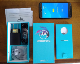 Motorola Moto X4 32gb Preto Seminovo