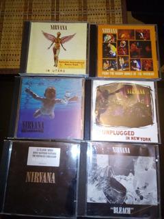 Vendo Cds De Nirvana