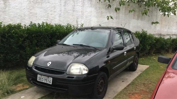 Renault Clio Sedan 2001 1.6 16v Rn 4p